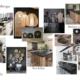Planche d'inspiration cuisine par Virginie Vaudenay décoratrice UFDI Couleur de vie Bué en Sancerre dans le Cher (18)