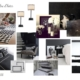 Planche d'ambiance chambre d'hotes par Virginie Vaudenay décoratrice UFDI Couleur de vie Bué en Sancerre dans le Cher (18)