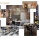 Planche d'inspiration restaurant par Virginie Vaudenay décoratrice UFDI Couleur de vie Bué en Sancerre dans le Cher (18)