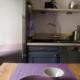 Cuisine gris/mauve APRES Bué 18