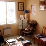 Salle d'attente zen et nature AVANT Vailly sur Sauldre 18