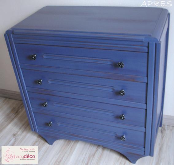 Commode gris bleu APRES Jalognes 18