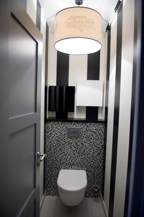 Salle d'eau Toilette à Bué par Virginie Vaudenay décoratrice ufdi Couleur de vie Bué en Sancerre dans le Cher (18)