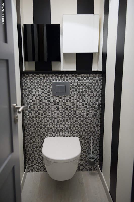 Deco wc suspendu mosaique - Decoration toilette suspendu ...