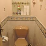 Toilette noir et blanc AVANT Sancerrois 18