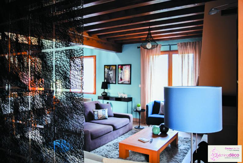 salon bleu ardoise APRES Arquian