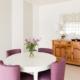 salle a manger rose parme APRES Sancerre18
