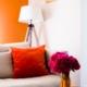 Salon Salle à manger tangerine et broc APRES Saint-Loup des Chaumes