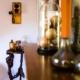 Salon & Salle à manger mix tangerine et broc à Saint-Loup des Chaumes, par Virginie Vaudenay, Décoratrice UFDI à Bourges, dans le Cher (18), la Nièvre (58) , le Loiret (45) et L'Yonne (89)