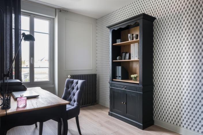 bureau rénovation maison Vailly sur Sauldre par virginie vaudenay décoratrice ufdi couleur de vie Bué en sancerre dans le cher (18)