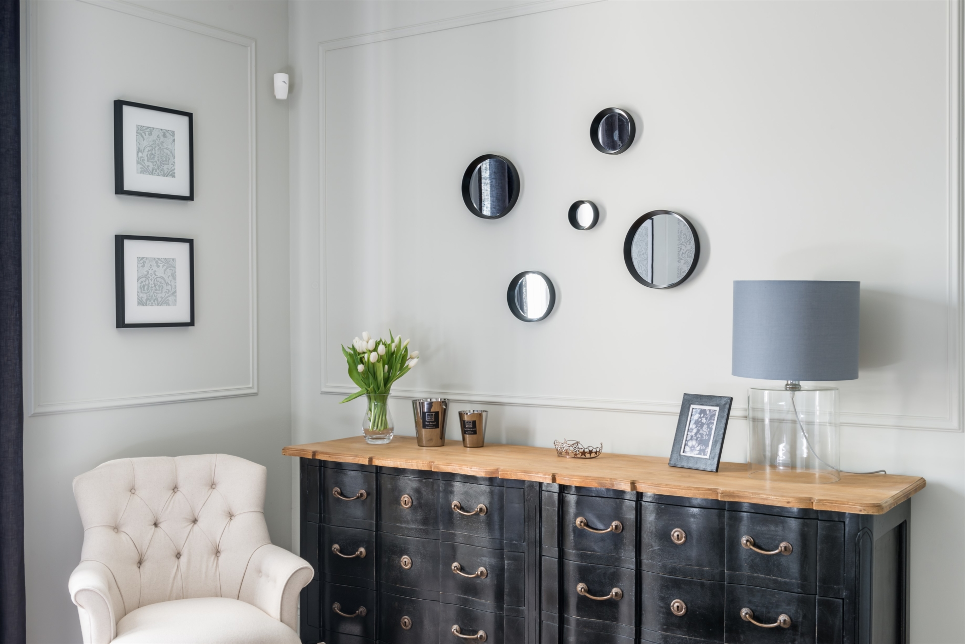 Chambre bureau gris noir u2022 by virginie vaudenay u2022 décoratrice ufdi 18 58