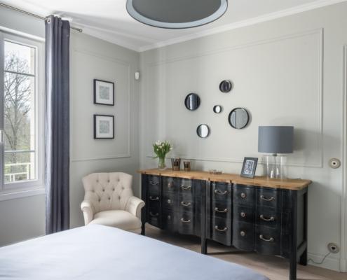 Chambre gris et noir APRES Vailly