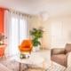 salon maison neuve Boulleret par virginie vaudenay décoratrice ufdi couleur de vie Bué en sancerre dans le cher (18)